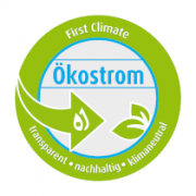 Siegel First Climate-Ökostrom